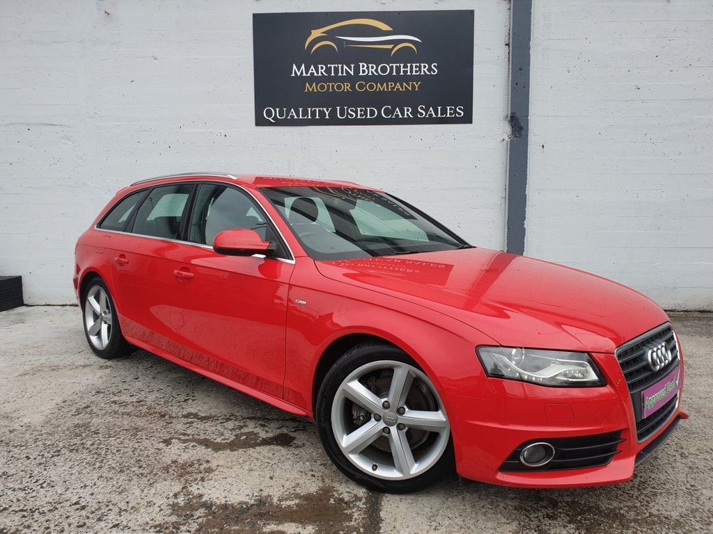 USED 2009 59 AUDI A4 2.0 AVANT TDI S LINE SPECIAL EDITION 5d 141 BHP