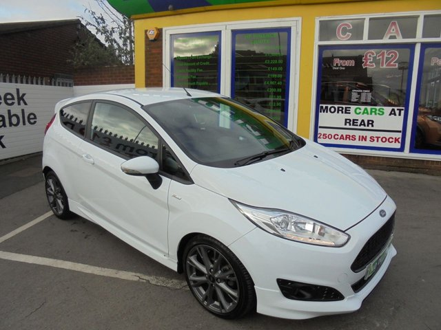 USED 2016 66 FORD FIESTA 1.0 ST-LINE 3d 100 BHP JUST ARRIVED FORD FIESTA ZETEC S