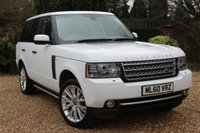 USED 2010 60 LAND ROVER RANGE ROVER 4.4 TDV8 AUTOBIOGRAPHY 5d 313 BHP ** 7 SERVICES ** FREE WARRANTY