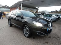USED 2011 11 NISSAN QASHQAI+2 2.0 TEKNA PLUS 2 DCI 5d 148 BHP BOSE,SAT NAV,LEATHER,HEATED SEATS,CRUISE,USB AND AUX PORT