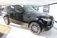 USED 2016 66 LAND ROVER RANGE ROVER SPORT 3.0 SDV6 AUTOBIOGRAPHY DYNAMIC 306 BHP FACELIFT 22'S DEPLOY TOWBAR