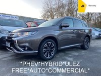 USED 2016 66 MITSUBISHI OUTLANDER Commercial 2.0 PHEV GX3H PLUS 4WORK 161 BHP Hybrid AUTOMATIC