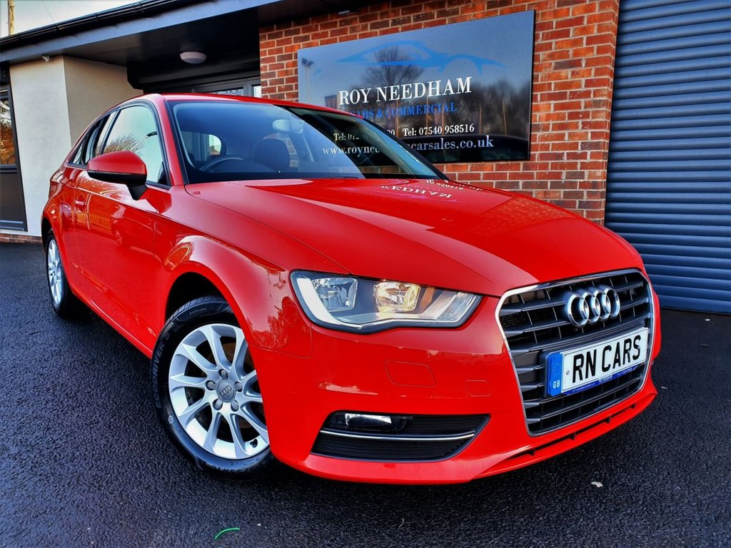 USED 2013 13 AUDI A3 1.4 TFSI SE 3DR 121 BHP *** A/C - 2 OWNERS - CLEAN CAR ***