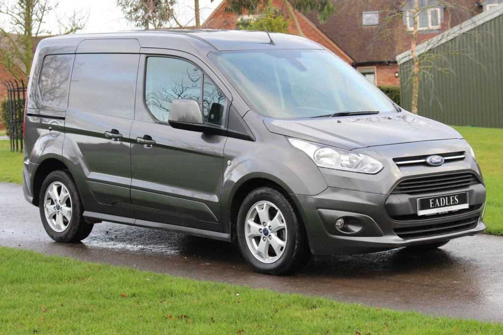 USED 2017 66 FORD TRANSIT CONNECT 1.5 200 LIMITED P/V 118 BHP * NO VAT LIMITED GREY -  WARRANTY INCLUDED * Ready to go