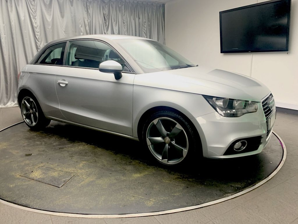 USED 2012 12 AUDI A1 1.6 TDI SPORT 3d 103 BHP FREE UK DELIVERY, AIR CONDITIONING, AUTOMATIC HEADLIGHTS, BLUETOOTH TELEPHONE CONNECTIVITY, CLIMATE CONTROL, HEATED DOOR MIRRORS, HEATED REAR WINDSCREEN, START/STOP SYSTEM, STEERING WHEEL CONTROLS, TRIP COMPUTER