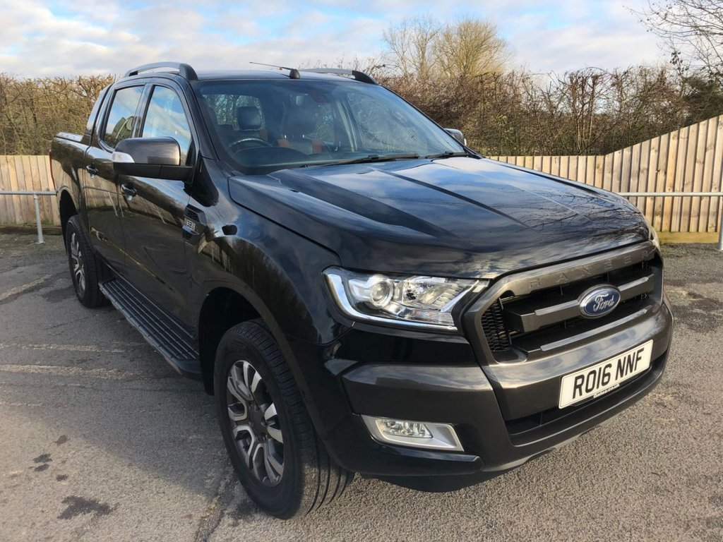 USED 2016 16 FORD RANGER 3.2TDCI WILDTRAK 4X4 D/CAB (AUTO)(200 PS)