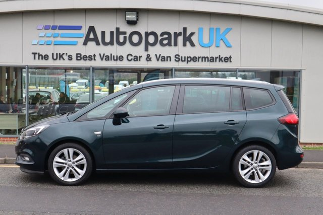 USED 2016 66 VAUXHALL ZAFIRA TOURER 1.4 SRI NAV 5d 138 BHP LOW DEPOSIT OR NO DEPOSIT FINANCE AVAILABLE