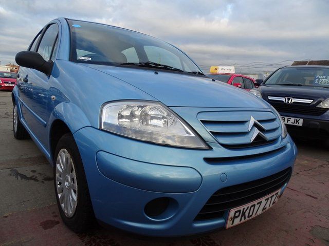 USED 2007 07 CITROEN C3 1.4 DESIRE GREAT LOW MILES MINT CAR