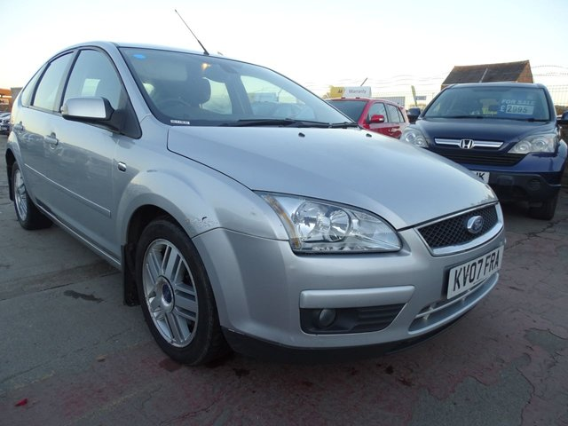 USED 2007 07 FORD FOCUS 1.8 GHIA TDCI 5d 1 YEAR MOT NEW CLUCTH