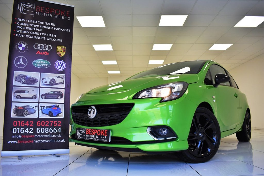 USED 2016 16 VAUXHALL CORSA 1.4 LIMITED EDITION ECOFLEX 3 DOOR