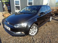 USED 2014 64 VOLKSWAGEN POLO 1.0 BlueMotion Tech SE (s/s) 3dr Bluetooth, DAB, R-Sensors