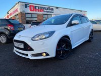 USED 2013 63 FORD FOCUS 2.0 T ST-3 5dr FSH+1 YRS MOT+LOW MILES+VALUE!