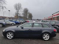 USED 2014 14 AUDI A4 2.0 TDI SE Technik Avant 5dr 1 OWNER+SAT NAV+FULL LEATHER!!