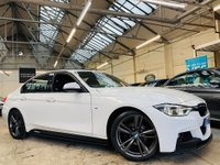 USED 2017 66 BMW 3 SERIES 2.0 320d BluePerformance M Sport Auto (s/s) 4dr PERFORMANCE-KIT+19S+PRONAV+HTD