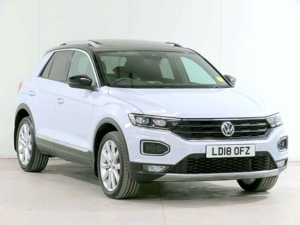 USED 2018 18 VOLKSWAGEN T-ROC 2.0 TSI SEL DSG 4Motion (s/s) 5dr **3,305 EXTRAS**HOME-DELIVERY