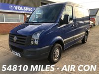 USED 2014 64 VOLKSWAGEN CRAFTER 2.0 CR30 TDI SWB 109 BHP LOW MILEAGE!
