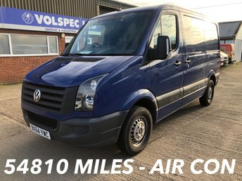 2014 VOLKSWAGEN CRAFTER 2.0 CR30 TDI SWB 109 BHP LOW MILEAGE! £8500.00
