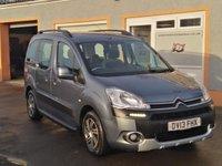 USED 2013 13 CITROEN BERLINGO MULTISPACE 1.6 E-HDI AIRDREAM XTR EGS 5d 91 BHP Metallic Paint, Automatic, Paddle shift option, Sliding rear doors