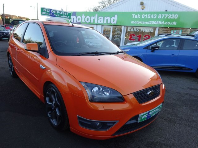 USED 2007 07 FORD FOCUS 2.5 ST-3 3d 225 BHP ** 01543 877320 ** JUST ARRIVED **