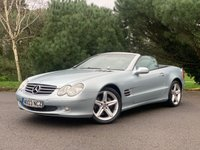USED 2003 03 MERCEDES-BENZ SL 5.0 SL500 2d 306 BHP FULL SPEC, LOW MILES, LOVELY EXAMPLE, IN ITS DAY IT WOULD OF HAD A RETAIL PRICE AROUND 70K, HAMMER V8 SL500!!!!