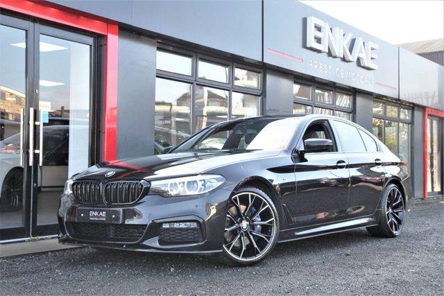 2017 67 BMW 5 SERIES 2.0 520D M SPORT 4d 188 BHP