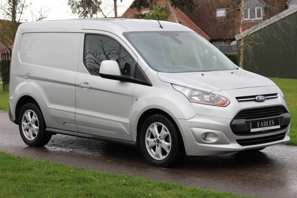 USED 2016 16 FORD TRANSIT CONNECT 1.6 200 LIMITED P/V 114 BHP * NO VAT LIMITED SILVER -  WARRANTY INCLUDED 12 MONTH MOT  * READY TO GO