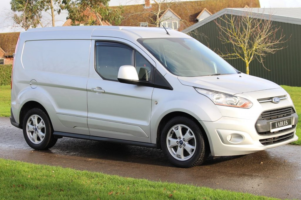 USED 2015 65 FORD TRANSIT CONNECT 1.6 200 LIMITED P/V 114 BHP * NO VAT LIMITED SILVER -  WARRANTY INCLUDED * READY TO GO
