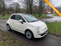 2012 FIAT 500 0.9 LOUNGE 3d 85 BHP £4495.00