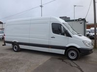 USED 2012 62 MERCEDES-BENZ SPRINTER 2.1 313 CDI LWB HI ROOF, 129 BHP [EURO 5]