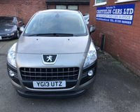 USED 2013 13 PEUGEOT 3008 1.6 E-HDI ACTIVE 5d 115 BHP AUTOMATIC AUTO,ONLY 36K MILES, FULL HISTORY