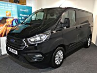 USED 2019 19 FORD TRANSIT CUSTOM 2.0 280 LIMITED P/V L1 H1 129 BHP EURO 6 MANUFACTURERS WARRANTY UNTIL 30/06/2022,