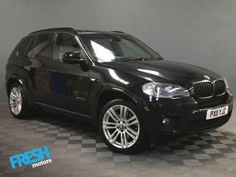2011 BMW X5 3.0 XDRIVE40D M SPORT 5d 302 BHP £13500.00