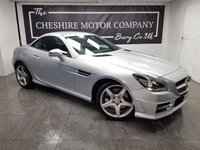 USED 2012 12 MERCEDES-BENZ SLK 2.1 SLK250 CDI BLUEEFFICIENCY AMG SPORT 2d 204 BHP