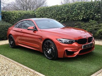 2019 BMW M4 3.0 M4 COMPETITION 2d 444 BHP £41995.00
