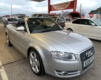USED 2008 P AUDI A4 2.0 TDI S LINE CONVERTIBLE