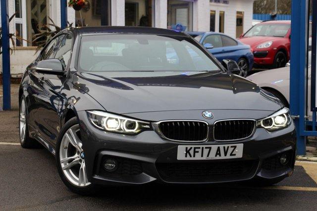2017 17 BMW 4 SERIES 2.0 420D M SPORT GRAN COUPE 4d 188 BHP