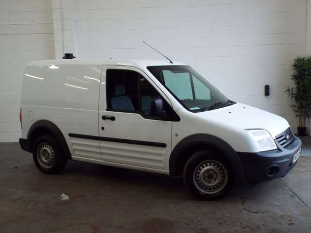2013 13 FORD TRANSIT CONNECT 1.8 T200 LR 74 BHP NO VAT P EX CLEARANCE NO VAT YES NO VAT