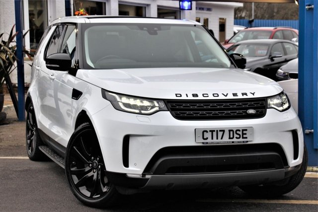 2017 17 LAND ROVER DISCOVERY 3.0 TD6 HSE LUXURY 5d 255 BHP