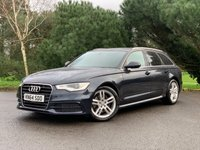 USED 2014 64 AUDI A6 2.0 AVANT TDI ULTRA S LINE 5d 188 BHP SUPERB CONDITION ULTRA S LINE A6 AUTOMATIC ESTATE WITH FULL AUDI SERVICE HISTORY