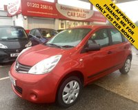 2009 NISSAN NOTE 1.4 VISIA 5d 88 BHP ONLY 79,000 MILES £2495.00