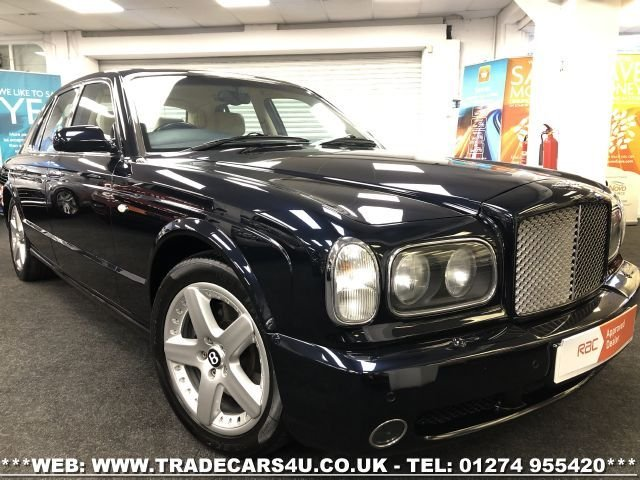 2003 52 BENTLEY ARNAGE 6.8 T 4d 451 BHP