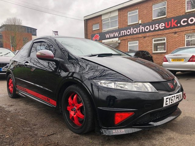 USED 2007 57 HONDA CIVIC 2.0 I-VTEC TYPE-R GT 3d 198 BHP SERVICE HISTORY, ALLOY WHEELS, PUSH BUTTON START, ELECTRIC WINDOWS