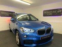 2016 BMW X1 2.0 XDRIVE20D M SPORT 5d 188 BHP £18600.00