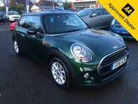 2016 MINI HATCH COOPER 1.5 COOPER D 3d 114 BHP IN METALLIC BRITISH RACING GREEM FULL SERVICE HISTORY, 1 OWNER AND A GREAT SPEC INCLUDING AN AUTOMATIC GEARBOX. THIS IS A ULEZ COMPLIANT VEHICLE £8799.00
