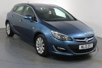 USED 2013 13 VAUXHALL ASTRA 1.6 ELITE AUTOMATIC 5d 115 BHP 2 OWNERS with 7 Stamp SERVICE HISTORY