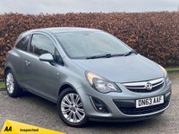 USED 2013 63 VAUXHALL CORSA 1.2 SE 3d * HEATED FRONT SEATS * LOW MILEAGE * IDEAL FIRST CAR *