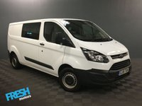 USED 2015 15 FORD TRANSIT CUSTOM 2.2 290 DCB L2H1 * 0% Deposit Finance Available