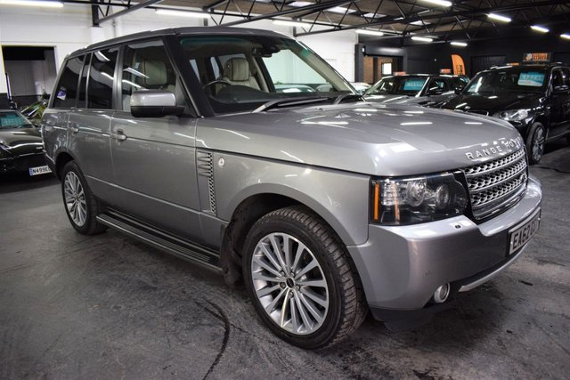 USED 2012 62 LAND ROVER RANGE ROVER 4.4 TDV8 WESTMINSTER 5d 313 BHP STUNNING WESTMINSTER SPEC 4.4 TDV8 - 6 STAMPS TO 94K -  IVORY LEATHER - NAV - TV - DUAL VIEW - PRIVACY GLASS - 21 INCH ALLOY WHEELS
