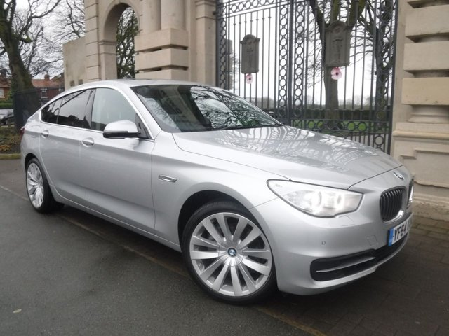 USED 2014 64 BMW 5 SERIES GRAN TURISMO 2.0 520D SE GRAN TURISMO 5d 181 BHP *** FINANCE & PART EXCHANGE WELCOME *** ELECTRIC PANORAMIC ROOF FULL BLACK LEATHER SAT/NAV PARKING SENSORS HEATED SEATS DAB RADIO