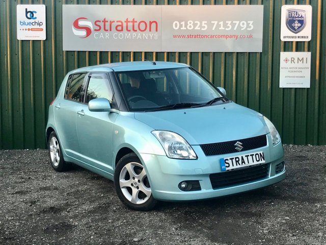 2007 07 SUZUKI SWIFT 1.5 GLX VVTS 5d 101 BHP